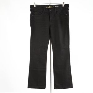 7 For All Mankind – Woman's Boot-Cut Jeans – 30